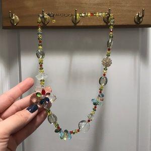 Jewelry - Crystal jewel beads necklace